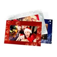 Świąteczne kartki na zdjęcia wraz z kopertami 3 szt