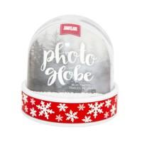Śniegowa Foto-kula (czerwony pasek Śnieżynki)
